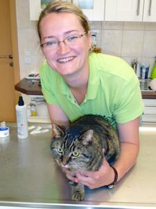 Tierärztin in Tierarztpraxis Raguhn-Jeßnitz